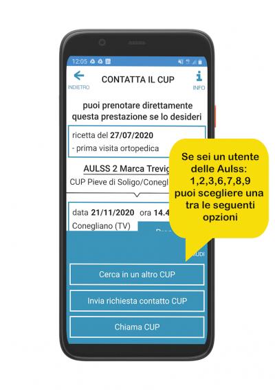Contatta il CUP 2